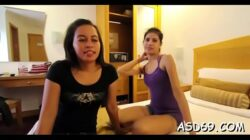 Fucking a smooth thai bawdy cleft
